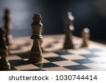 chess on chessboard close up...   Shutterstock . vector #1030744414