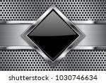metal background. black glass...   Shutterstock .eps vector #1030746634