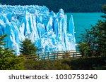 perito moreno glacier  argentina | Shutterstock . vector #1030753240