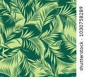 tropical plants pattern  i...   Shutterstock .eps vector #1030758289