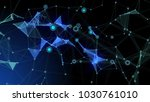 black and blue fantasy abstract ... | Shutterstock . vector #1030761010
