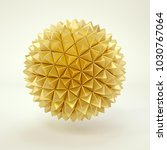 3d rendering lowpoly polygon... | Shutterstock . vector #1030767064