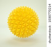 3d rendering lowpoly polygon... | Shutterstock . vector #1030770214