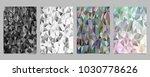 geometrical abstract tiled... | Shutterstock .eps vector #1030778626