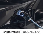 electric car  electric vehicle | Shutterstock . vector #1030780570