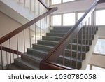 stairwell in the hospital | Shutterstock . vector #1030785058