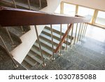 stairwell in the hospital | Shutterstock . vector #1030785088