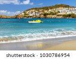 Sunny Sandy Livadi Beach In Se...