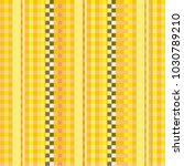 fabric with yellow pinstripes | Shutterstock .eps vector #1030789210