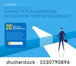 vector business concepts  the... | Shutterstock .eps vector #1030790896