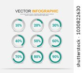 infographic elements chart... | Shutterstock .eps vector #1030822630