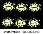abstract orchid pattern. gentle ... | Shutterstock .eps vector #1030831840