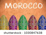 travel to morocco header... | Shutterstock . vector #1030847638