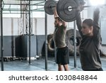 group of sportspeople lifting...   Shutterstock . vector #1030848844