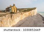 Coastal Erosion  Sussex  Uk. A...