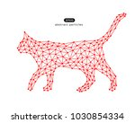 vector abstract illustration of ... | Shutterstock .eps vector #1030854334