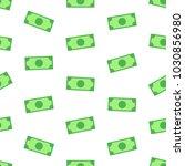 money  bank notes on white... | Shutterstock .eps vector #1030856980