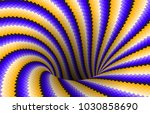 rotating spiral patterned hole... | Shutterstock .eps vector #1030858690
