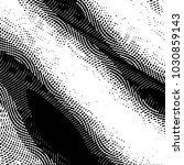 grunge halftone black and white ... | Shutterstock .eps vector #1030859143