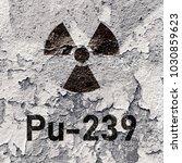 pu 239    radioactive plutonium ... | Shutterstock . vector #1030859623