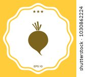 beet root icon | Shutterstock .eps vector #1030862224
