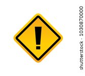road signs vector | Shutterstock .eps vector #1030870000