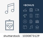 package icon set and house with ...
