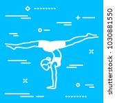 vector illustration of elegant... | Shutterstock .eps vector #1030881550