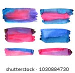 blue and pink background.... | Shutterstock . vector #1030884730