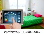 smart home and technology... | Shutterstock . vector #1030885369