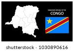 map and national flag of... | Shutterstock .eps vector #1030890616
