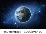 earth  star and galaxy.... | Shutterstock . vector #1030896490