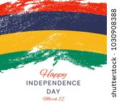 happy independence day of... | Shutterstock .eps vector #1030908388