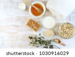 natural ingredients for... | Shutterstock . vector #1030916029