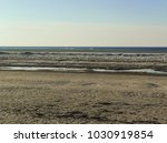 the gulf of riga in jurmala ... | Shutterstock . vector #1030919854