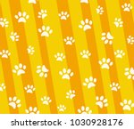 Stock vector vector pattern and background with icons footprint to cat and dog abstract background for pet 1030928176