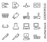 flat vector icon set   comments ...   Shutterstock .eps vector #1030939213