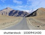 a gravity hill where slow speed ... | Shutterstock . vector #1030941430