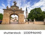 the jasna gora monastery in... | Shutterstock . vector #1030946440