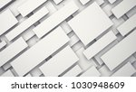 white floating 3d panels with...   Shutterstock . vector #1030948609