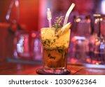 liquor cocktail drinks | Shutterstock . vector #1030962364