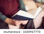 closeup of an old caucasian man ... | Shutterstock . vector #1030967770