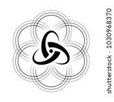 vector black and white symbol...   Shutterstock .eps vector #1030968370