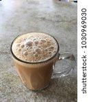 """teh tarik "" malaysia famous... | Shutterstock . vector #1030969030"