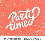 Party Time Banner.