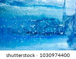 the texture of the ice. the... | Shutterstock . vector #1030974400