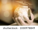 education in global  graduation ... | Shutterstock . vector #1030978849