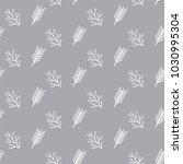 modern floral seamless pattern... | Shutterstock .eps vector #1030995304