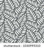 modern floral seamless pattern... | Shutterstock .eps vector #1030995310