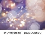 defocused circle lights | Shutterstock . vector #1031000590